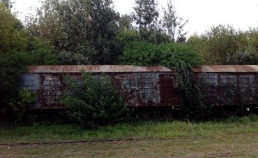 """""""Planean abandonar 32 vagones en el predio ferroviario de Las Heras"""""""