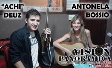 Antonela Bossio en un nuevo acústico de viernes