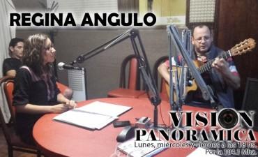 Regina Angulo en el acústico de Visión Panorámica