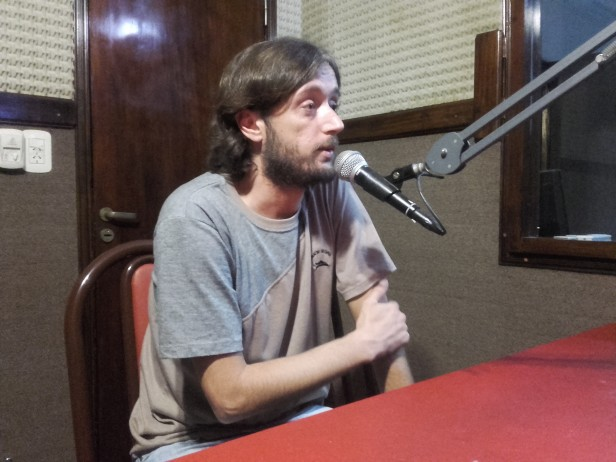 Nicolás Grande presentó su nuevo libro: Luján, historias subalternas