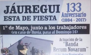 133º aniversario de Jáuregui