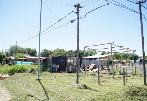 Desalojo en El Ombú: