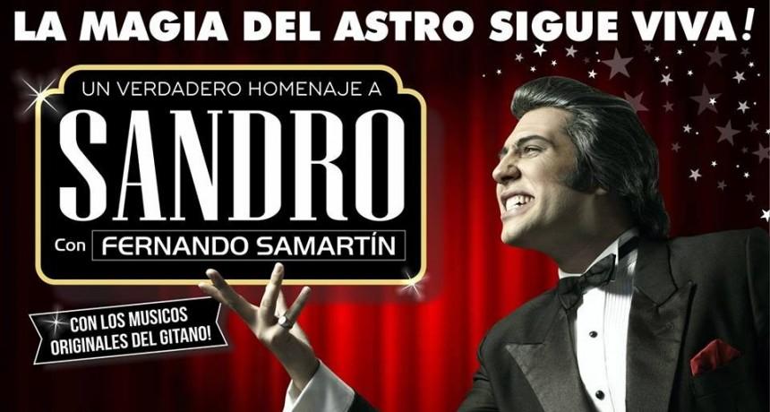 Homenaje a Sandro en Luján