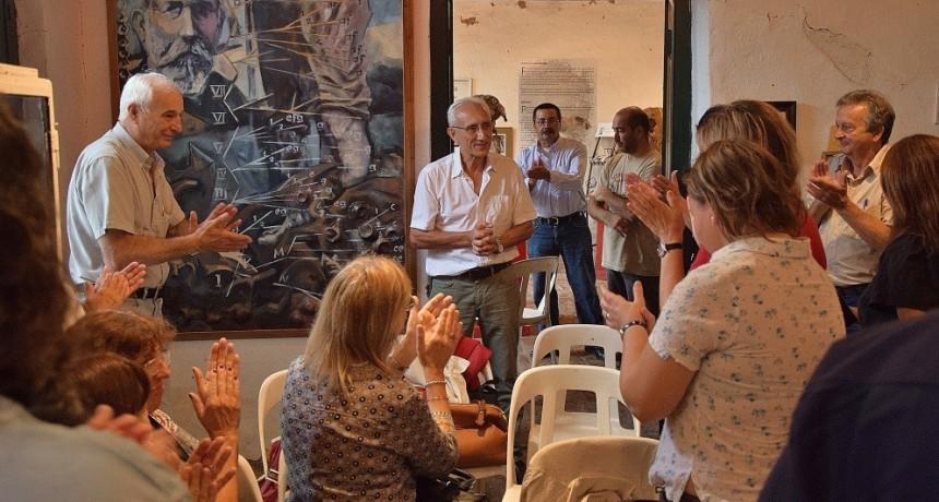 Presentaron dos obras relacionadas con Florentino Ameghino
