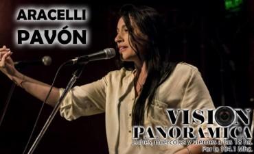 Araceli Pavón en el acústico de Visión Panorámica