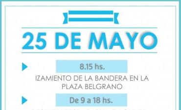 Actividades para celebrar el 25 de mayo