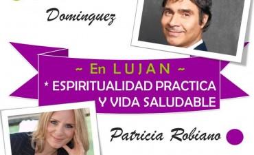 Claudio María Dominguez y Patricia Robiano darán una charla en Luján