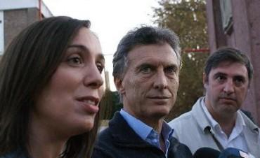 Mauricio Macri recorrió la ciudad junto a Vidal y Luciani