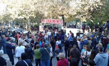 Gran convocatoria en la Plaza Colón contra la violencia de género