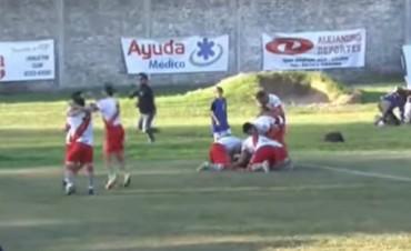 Luján derrotó a Armenio y se prendió en la pelea por el octogonal
