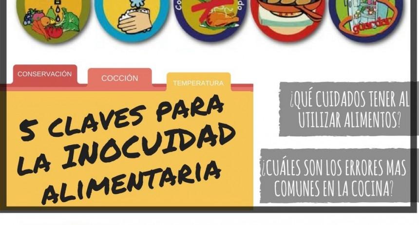 Claves para la inocuidad alimentaria