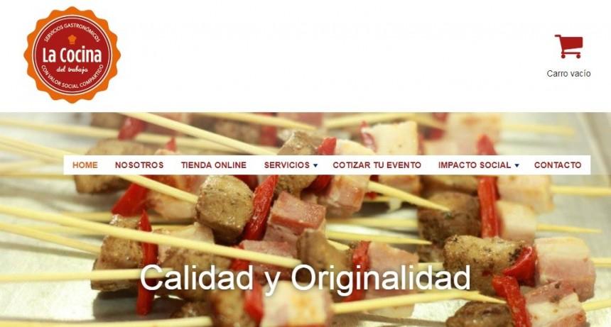 La Cocina del Trabajo lanzó su página web