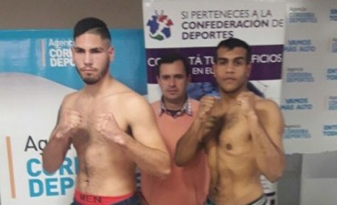 Viernes de boxeo en la provincia de Córdoba