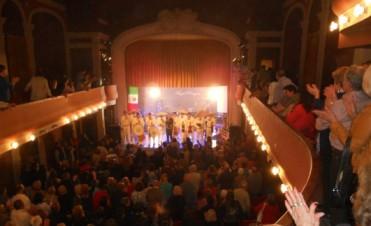 Angel Pereyra: El sueño del Angel a teatro lleno.