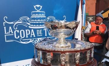La Copa Davis estuvo en Luján