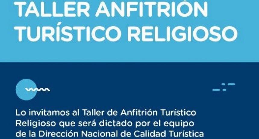 Brindarán taller sobre Turismo Religioso