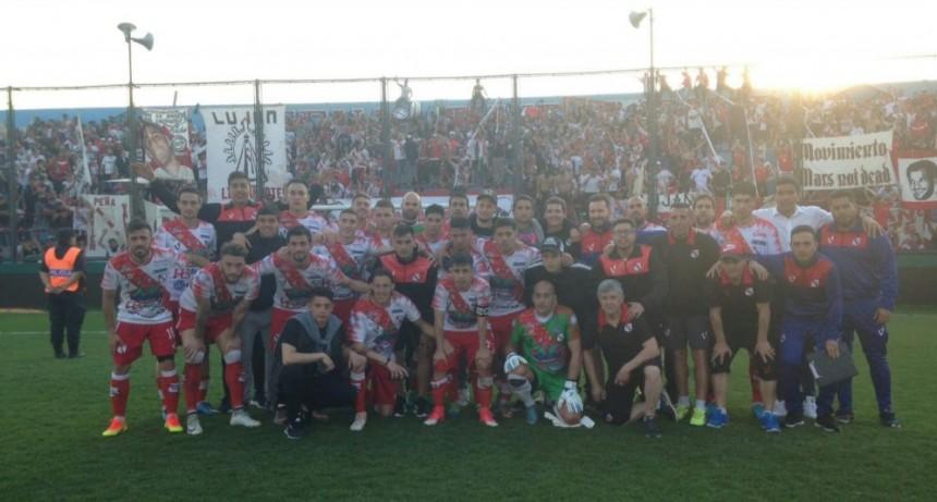 Gran partido de Luján frente a Estudiantes por Copa Argentina