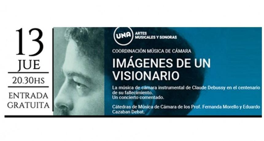 Concierto homenaje a Debussy en el Teatro Trinidad Guevara