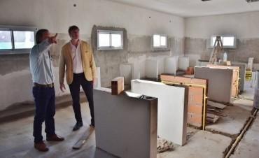 Avanza la obra de ampliación en el Instituto Fermín Mignone