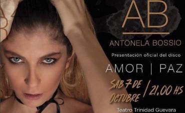 Antonela Bossio presenta su primer disco