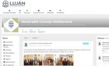 """Generan """"plataforma participativa"""" del Concejo Deliberante"""