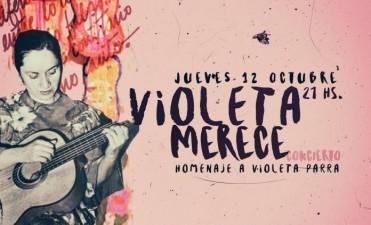 """""""Violeta merece concierto"""""""