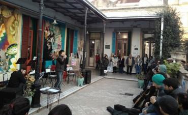 Festival en la Escuela de Arte para visibilizar la especialidad en Tango