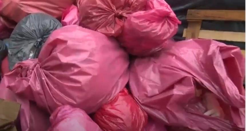 Por falta de pago, el Hospital acopia residuos patológicos