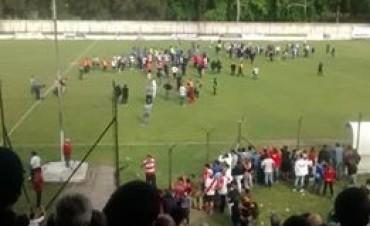 Suspendieron Luján - San Telmo sobre el final