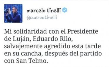 Marcelo Tinelli se expresó sobre la agresión a Eduardo Rilo