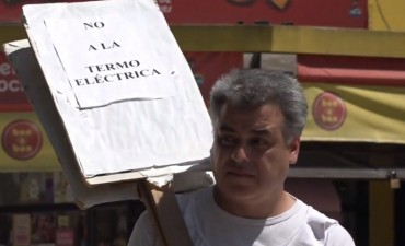 Luciani recibirá a los vecinos preocupados por la Termoeléctrica