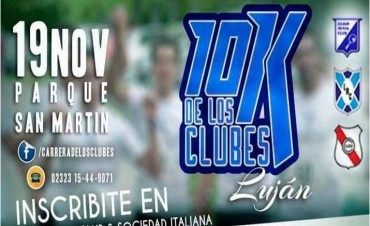 Vuelve la Carrera de los Clubes al Parque San Martín