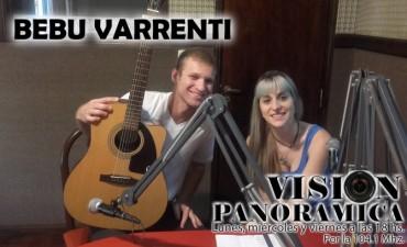 Bebu Varrenti en nuestros estudios