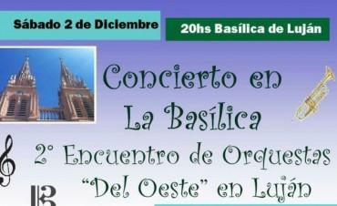 """Orquestas """"Del Oeste"""" reunidas para celebrar un concierto en la basílica"""