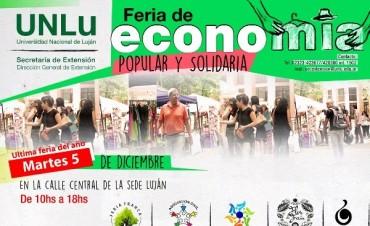 Última Feria de la Economía Popular y Solidaria del año