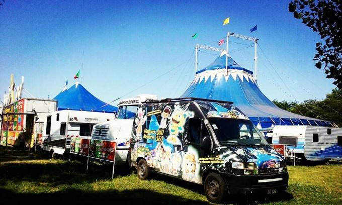 ¡El circo D Portugal llegó a Luján!