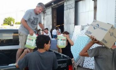 La solidaridad lujanense llegó hasta Pergamino