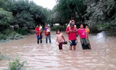La UNLu recibe donaciones para los inundados de Salta