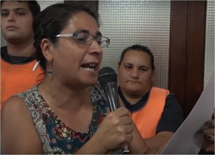 """""""Con lucha conseguimos el compromiso de un plan de obras"""""""