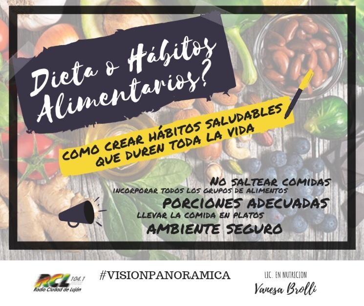 Nutrición: ¿Dieta o Hábitos Alimentarios?