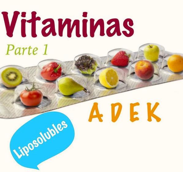 Vitaminas Liposolubles (A, D, E, K)