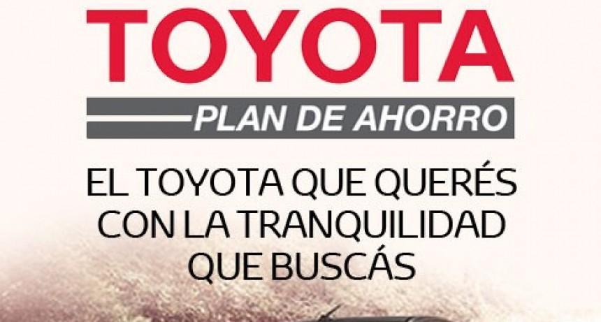 El Toyota qué querés, con la tranquilidad que buscás