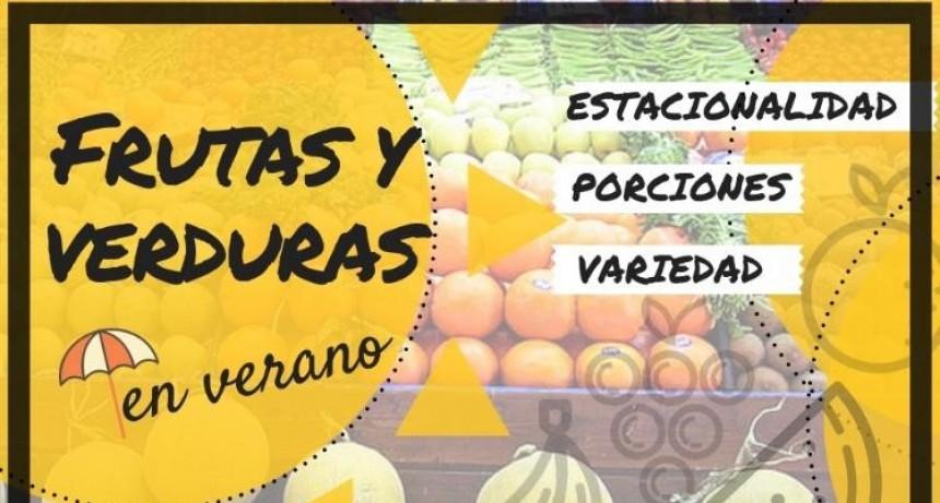 Nutrición: Consumo de frutas y verduras en verano