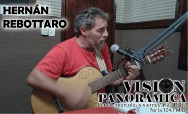 Hernán Rebottaro en el Acústico de Viernes