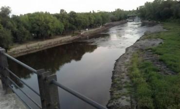 Trabajos en el río y reunión del Comité de Cuenca