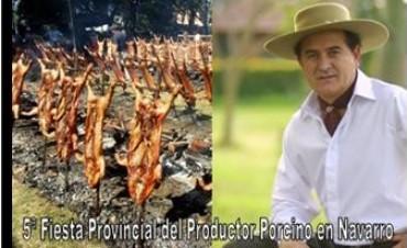 5ª Fiesta Provincial del Productor Porcino en Navarro – La Lechonada 2016