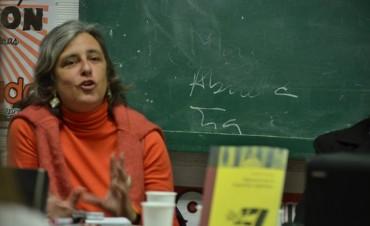 "Claudia Cesaroni: ""Encerrar adolescentes es pura demagogia"""
