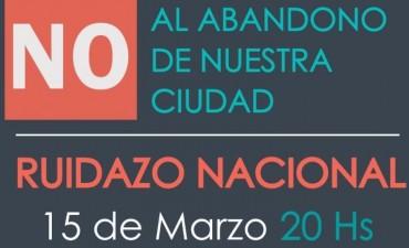 """Convocan a """"Ruidazo"""" de protesta a las 20 horas"""