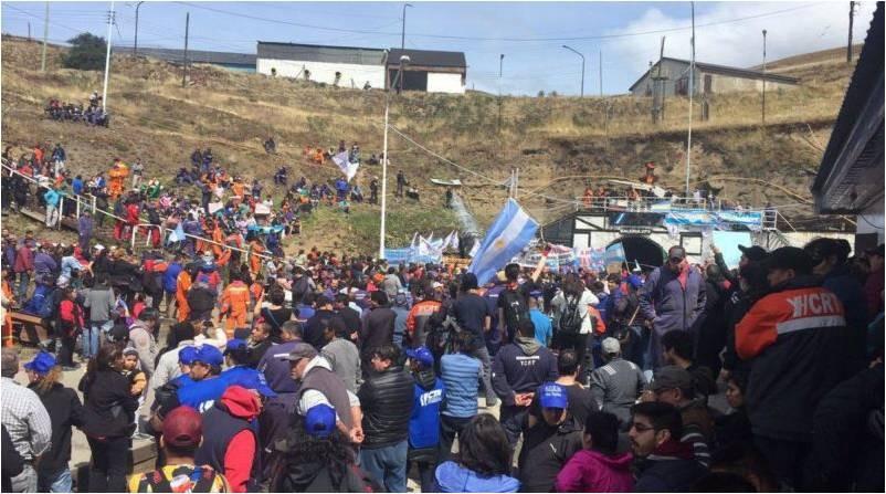 "Río Turbio: ""Va a ser una lucha larga"""