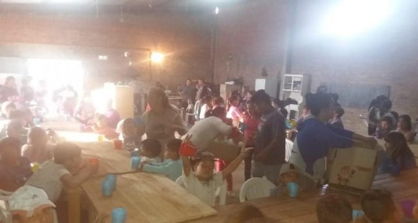Fuerte incremento de la demanda en merendero de Barrio Ameghino